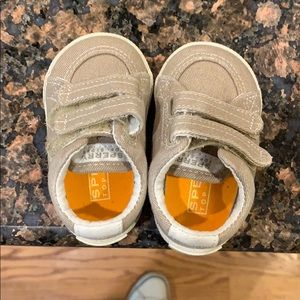 Baby size 1 Sperry shoes